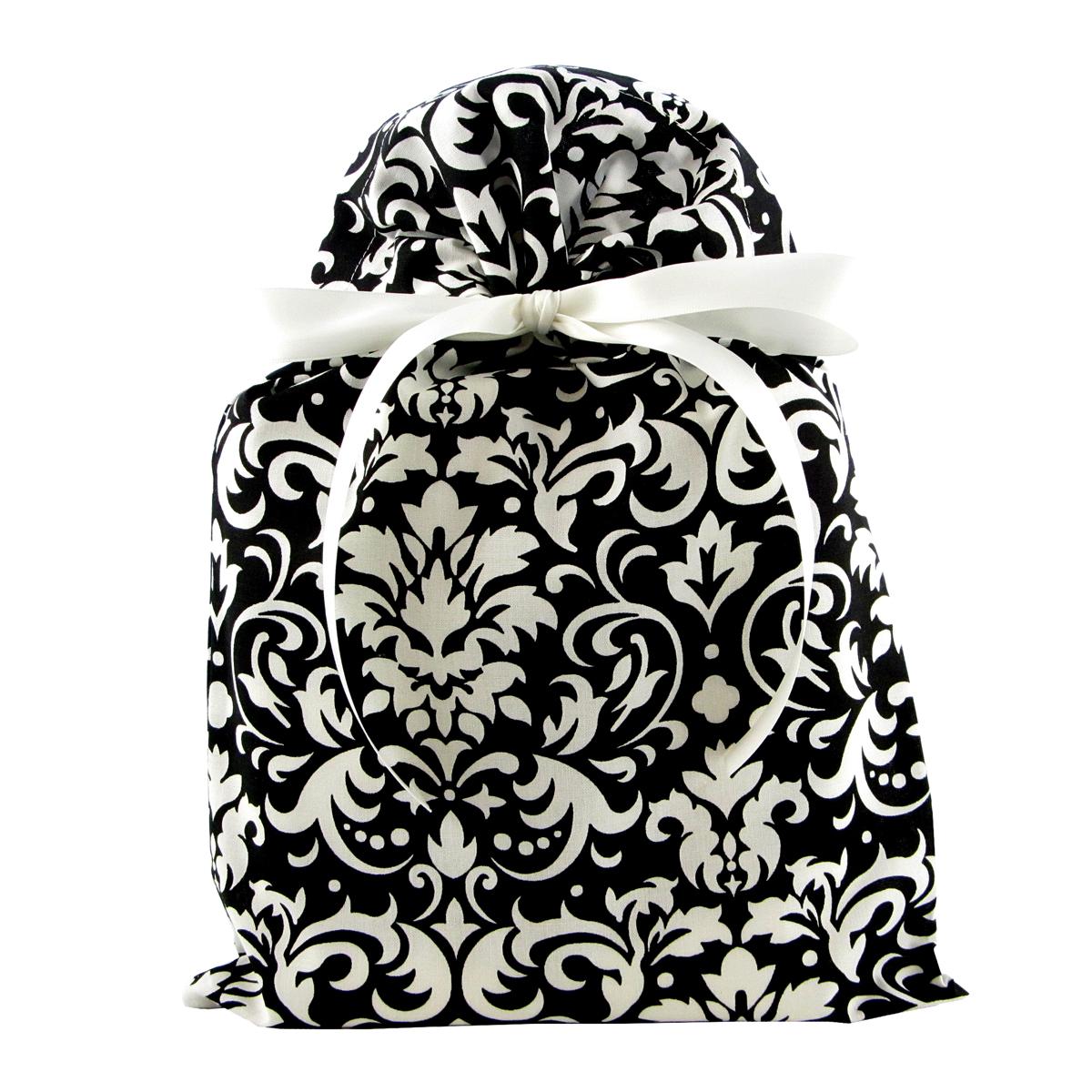 Black-and-White-Damask-Fabric-Gift-Bag