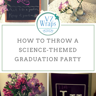 How to Throw a Science-themed Party without Generating Too Much Trash