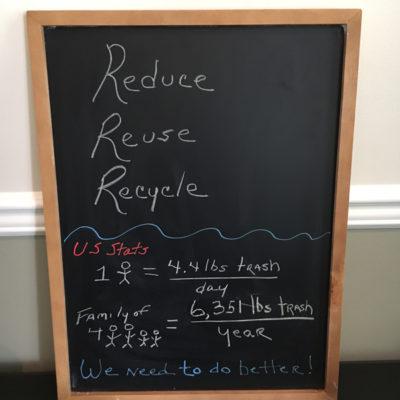 Six easy steps to reduce household trash