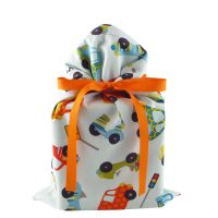 Blue-standard-gift-bag-with-cars-trucks-vehicles