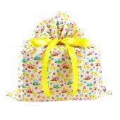 Chicks-bunnies-on-white-fabric-gift-bag-medium
