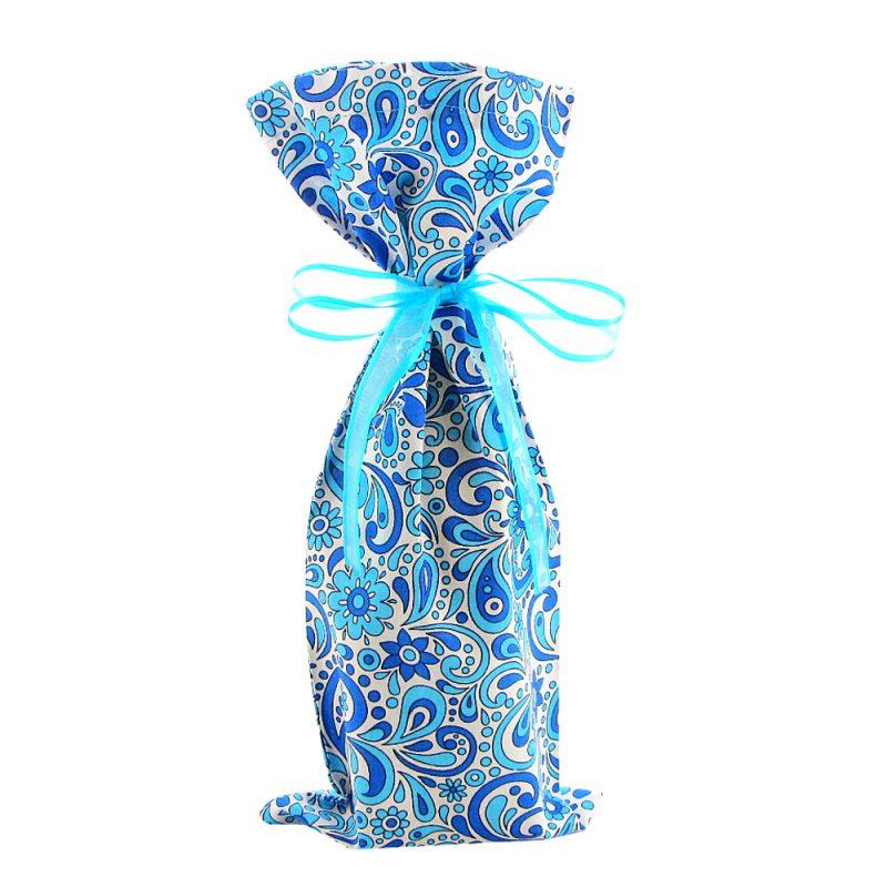 Wine-bottle-bag-blue-floral-pattern