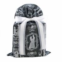 Black wedding gift bag standard