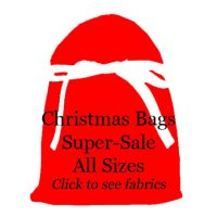Christmas gift bags on super-sale