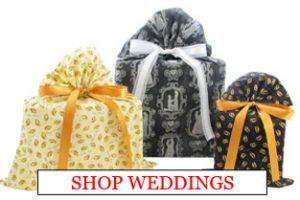 Trio of Wedding Gift Bags