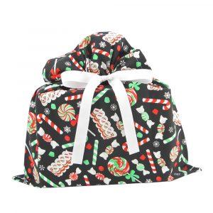 Christmas-Candy-Gift-Bag-Black-Medium
