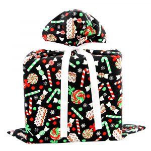 Christmas-Candy-Gift-Bag-Black-Large