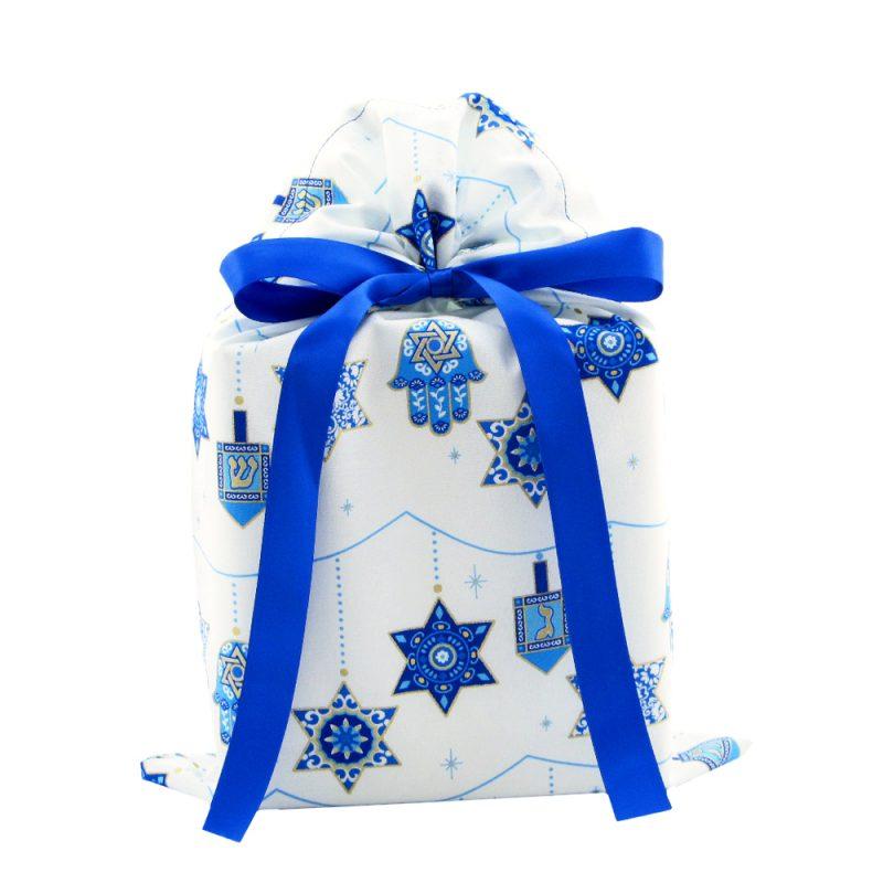 Standard-Hanukkah-gift-bag-blue-ribbon
