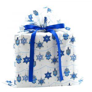 Large-Hanukkah-gift-bag-blue-ribbon