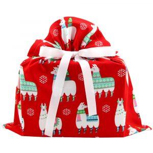 Christmas-gift-bag-with-llamas-red-medium