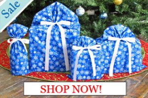 Snowflakes Gift Bags Shop Now