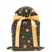 Black-fabric-gift-bag-with-gold-stars