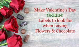 Valentine's Day Red Roses Over Wooden Background With Chocolate Candy Pieces