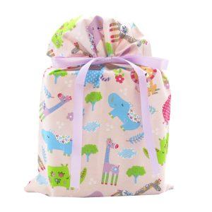 Pink-jungle-animals-standard-gift-bag