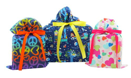 Peace-Nursery-Rhymes-and-Hearts-Trio-Cloth-Gift-Bags
