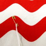 Small smudge on Red Waves jumbo