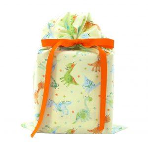 Baby-Dinosaur-Standard-Gift-Bag-Green