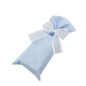 Steel-blue-damask-wine-bag