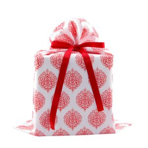 Red-White-Fabric-damask-gift-bag-large