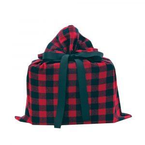 Buffalo-check-medium-gift-bag