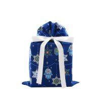 Blue Hanukkah Gift Bag Standard Size