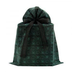 Large-green-black-reusable-gift-bag