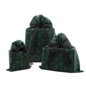 Trio-green-black-gift-bags